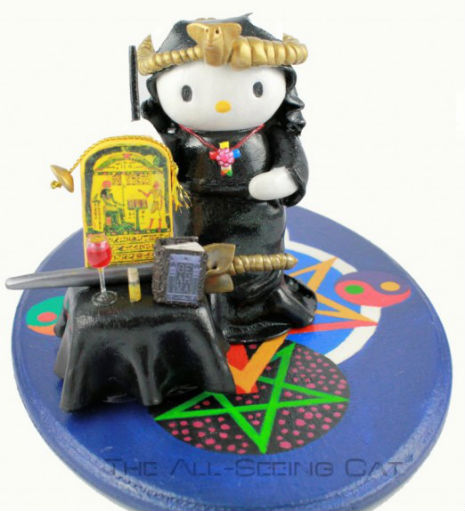 Hello Aleister Crowley: The Magician Kitty