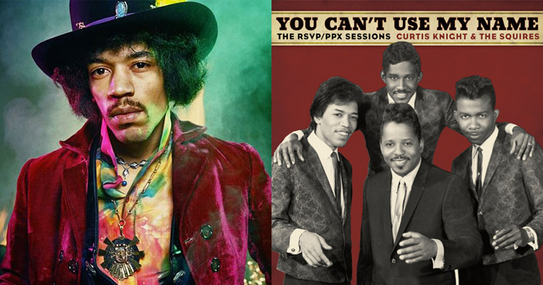 Before he was Jimi: Jimmy Hendrix with Curtis Knight and the Squires