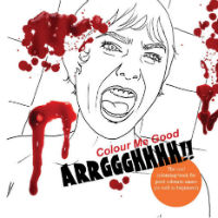 Color me blood red: Supermarket chain sells gruesome horror movie coloring-book to kids