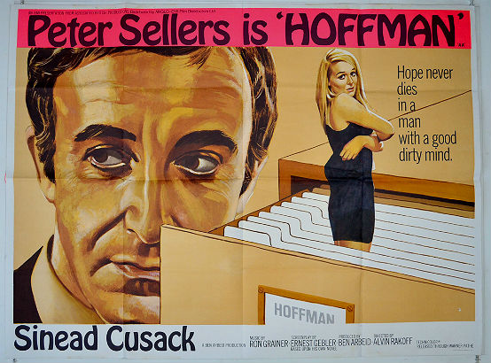 Peter Sellers is sinister and pathetic in the divisive 1970 obscurity, 'Hoffman'