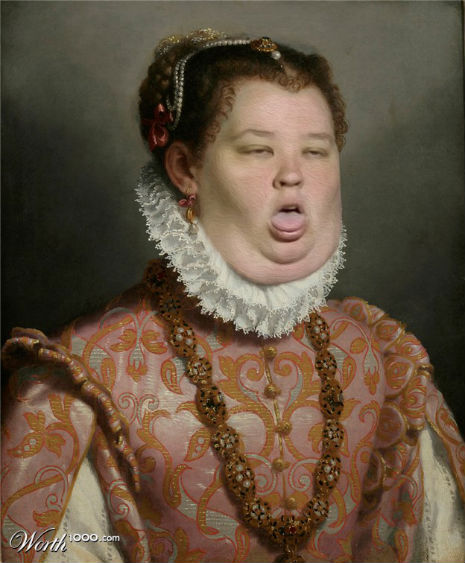 Renaissance paintings recreated with modern celebrities