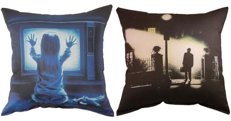 Sweet dreams: Horror movie pillows