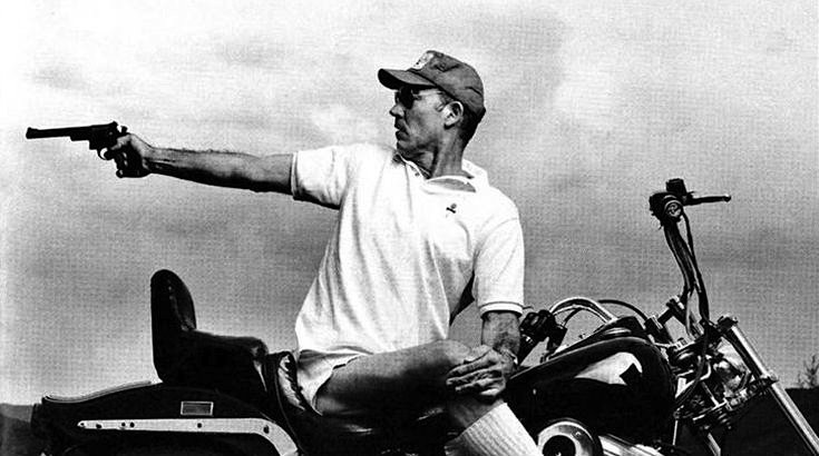 Hunter S. Thompson's typical daily intake of drink 'n' drugs