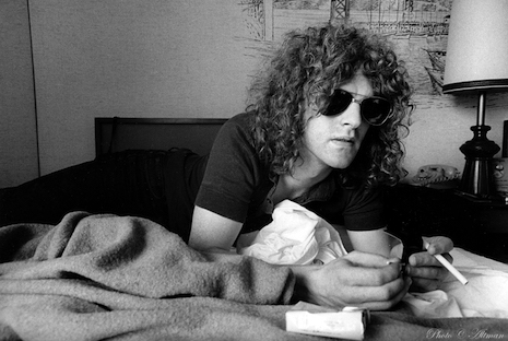 Ian Hunter (Mott the Hoople) 1970 by Robert Altman