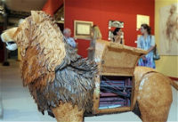 Leonardo Da Vinci's incredible mechanical lion and history's first programmable computer
