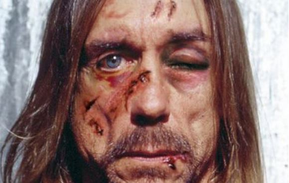 Iggy Pop found tortured with the Dalai Lama and Karl Lagerfeld!