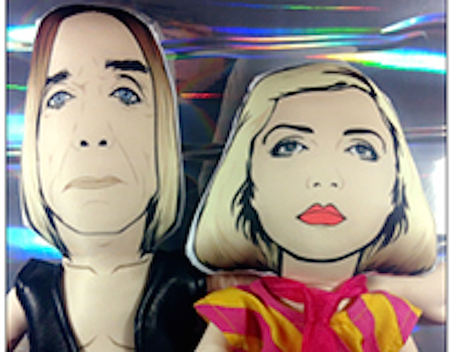 I wanna be your DOLL: Plush toys of Iggy, Bowie, DEVO, Blondie, Lemmy, Bjork, Siouxsie and MORE!