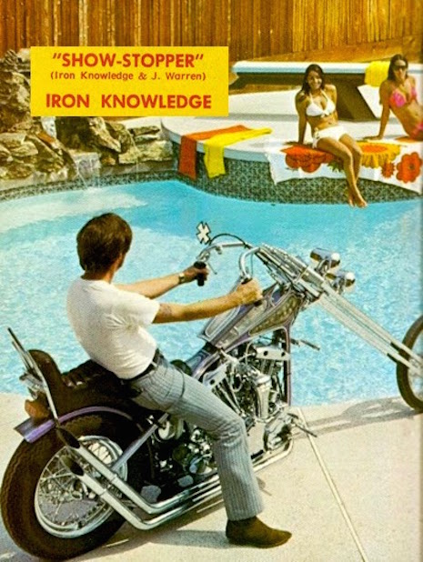 Iron Knowledge promo for their single, Show-Stopper, mid-1970s