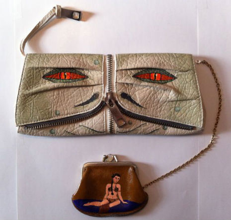 Hilarious Jabba the Hutt and Princess Leia purse set