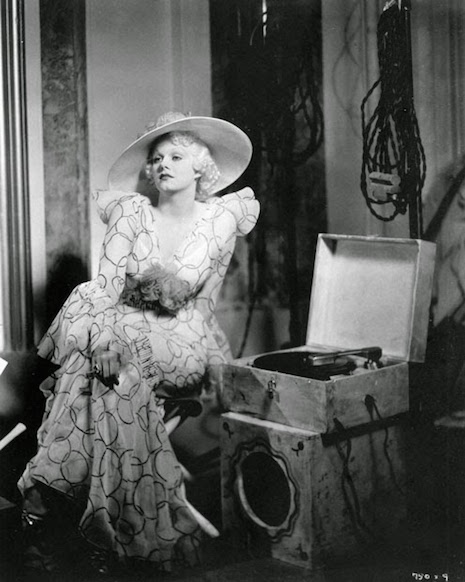 Jean Harlow in a scene from The Girl from Missouri, 1934