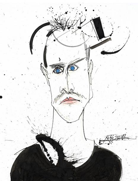 Jesse Pinkman by Ralph Steadman