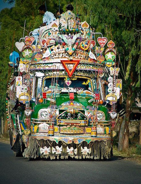 Jingle Truck front end