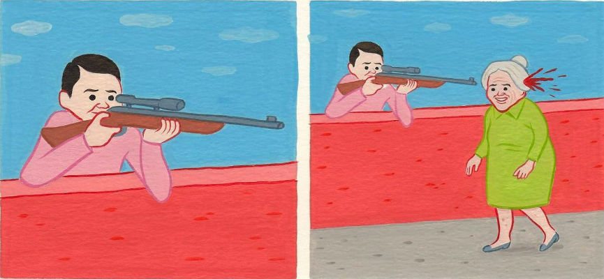 The dark, incredibly f*cked up comics of Joan Cornellà