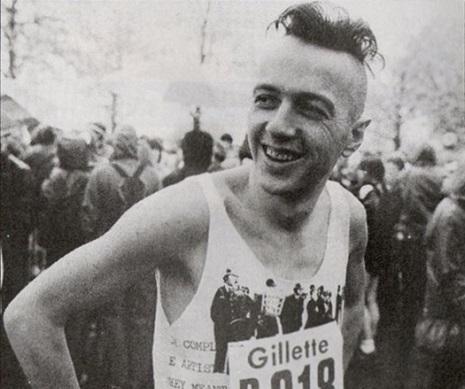 Joe Strummer, marathon runner?