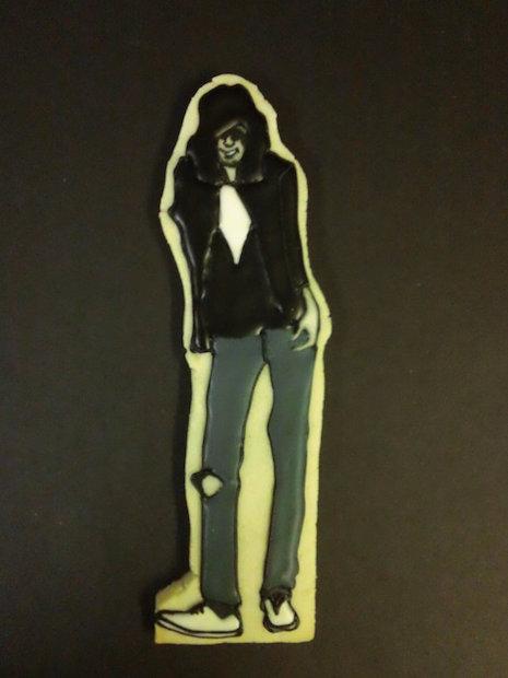 Joey Ramone cookie