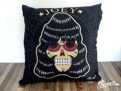 Joey Ramone pillow