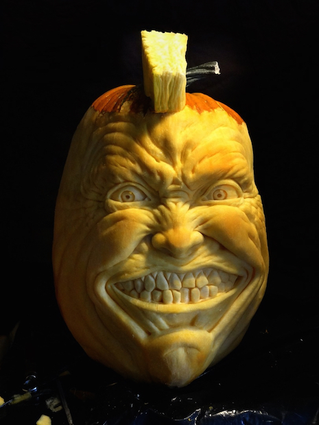 Angry pumpkin by Jon Neill