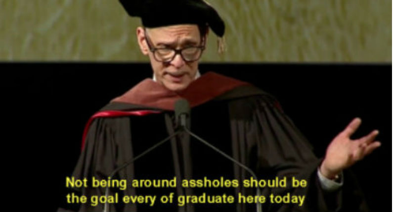 'Go out in the world and fuck it up beautifully': John Waters' commencement speech at RISD