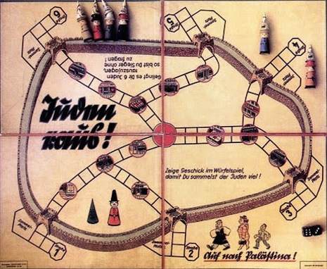 'Juden Raus': Nazi-era anti-Semitic board game where you deport the Jews