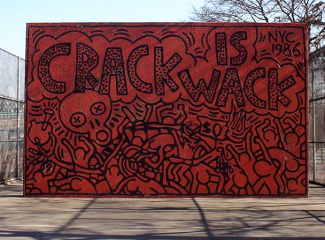 Crack is Wack mural