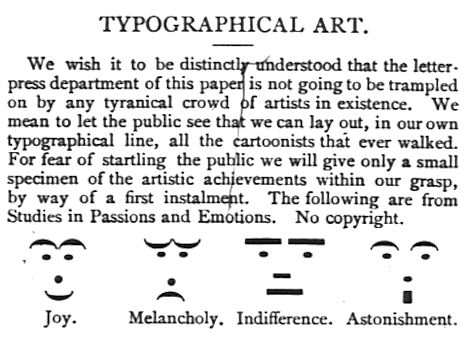 19th century emoticons