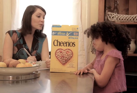 Cheerios commercial parody responds to racist haters