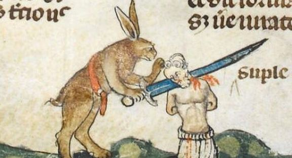 Medieval Times: Attack of the giant killer rabbits!