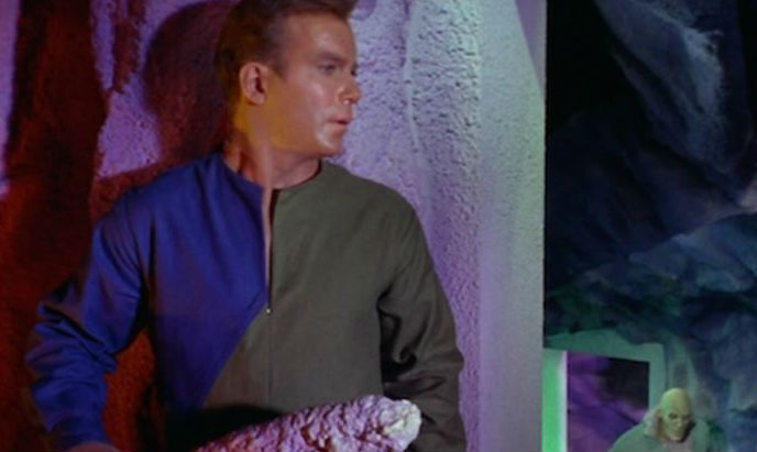 Great moments in 'Star Trek': Captain Kirk and the stalagmite dildo weapon