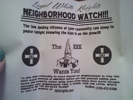 Klan literature