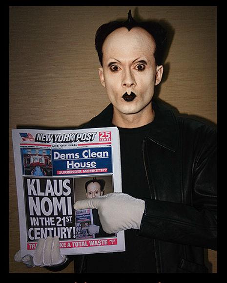 Klaus Nomi on NYC's 10 O'Clock News, 1981