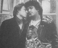 The Sex Pistols: Vintage interview with Steve Jones and Paul Cook, 1977