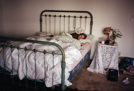 Kurt Cobain. Photo taken by Courtney Love at their North Seattle home in late 1993