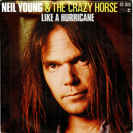 'Like a Hurricane': Neil Young, The Crazy Horse and a wind machine, live 1977