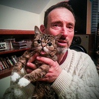 Oh for the love of all that is good in the world, it's Jonathan Richman and Lil Bub