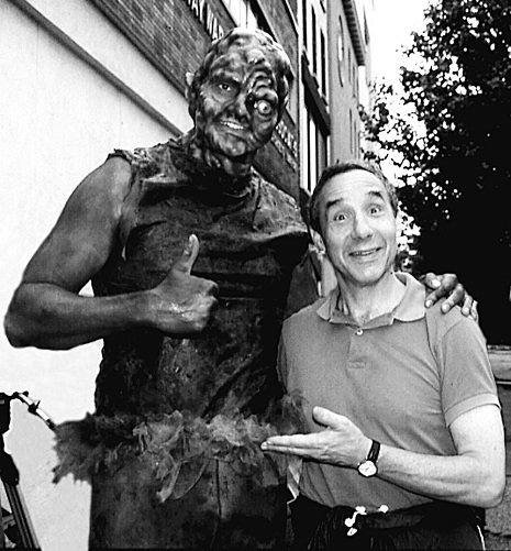 Kaufman and Toxic Avenger