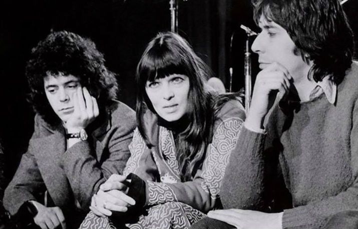 Lou Reed, John Cale and Nico have a Velvet Underground reunion on French TV, 1972