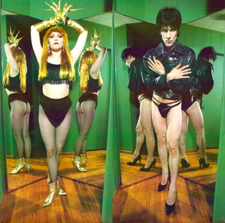Lux and Ivy of The Cramps explore the mystic arts of gardening and 3D photography