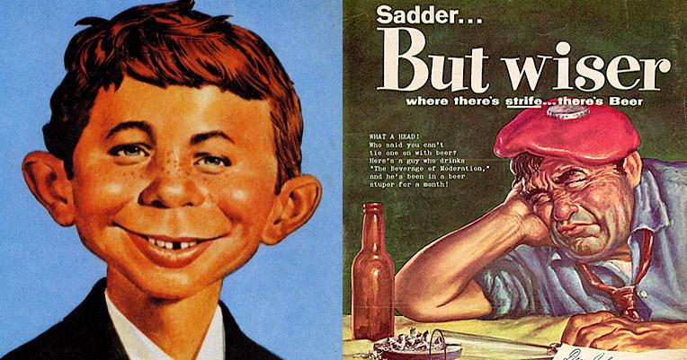 MAD magazine's most vicious advertising parodies, circa 1960