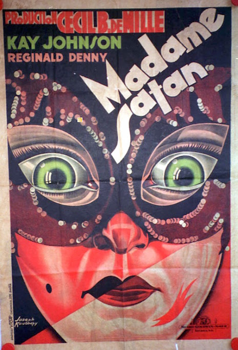 Madam Satan movie poster, 1930