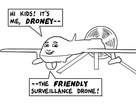 Droney the drone
