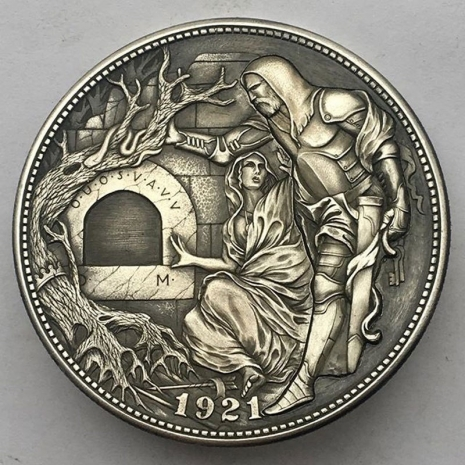Probably the most beautiful Hobo nickels in the world