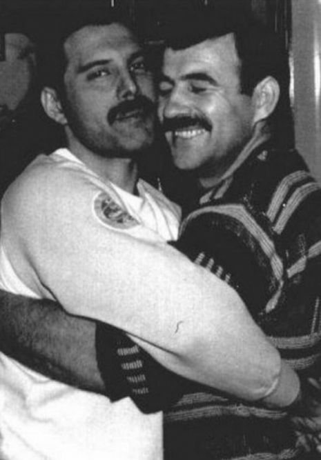 The look of love: Rarely-seen intimate pics of Freddie Mercury and