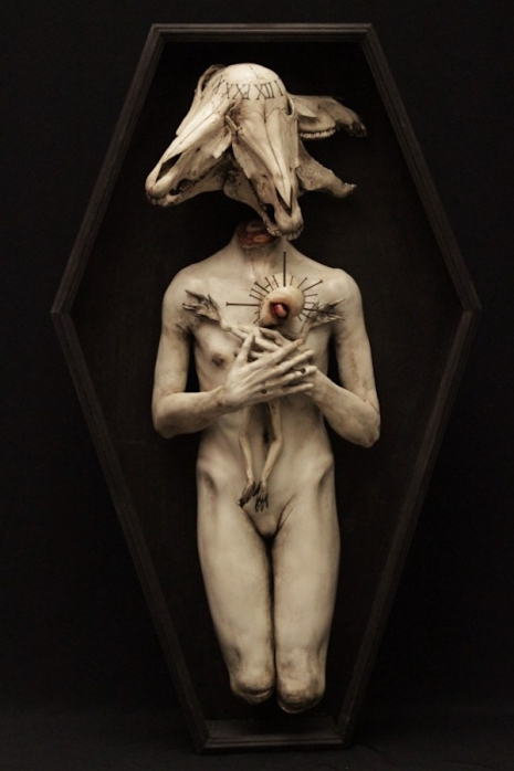 Your worst nightmares: The macabre and disturbing sculptures of Emil Melmoth (NSFW)