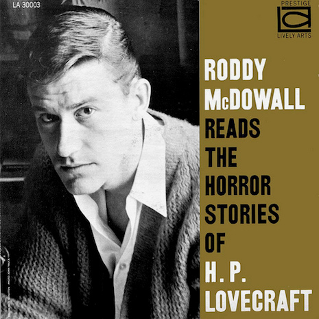 Roddy McDowall reads two horror stories by H. P. Lovecraft