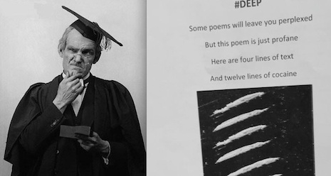 Teacher asks for 16 line poem: Kid writes one that's not to