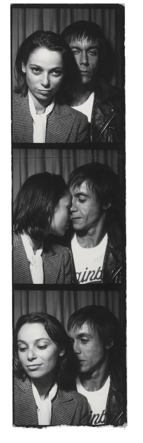 Esther Friedman and Iggy Pop were together for seven years.