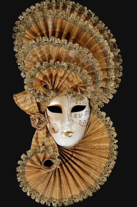 Beautiful handmade Venetian carnival masks | Dangerous Minds