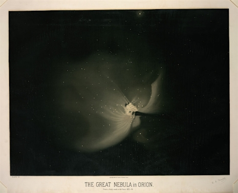 Maps to the Stars: Beautiful astronomical drawings from the 19th century  12grtnebulaorion_465_377_int