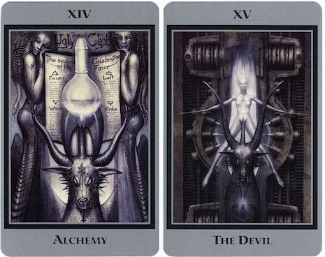 H R  Giger's nightmarish tarot cards (NSFW)   Dangerous Minds