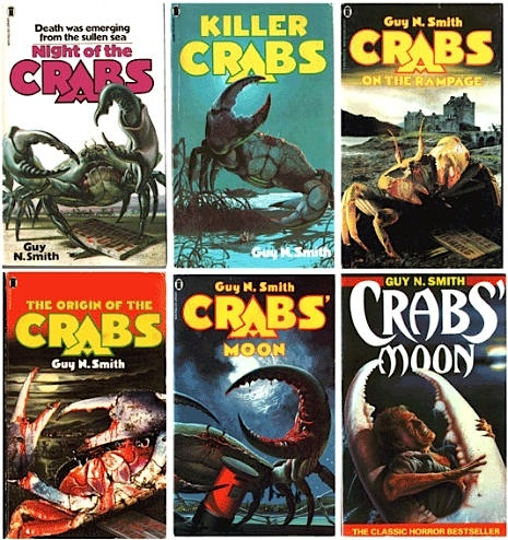 When nature attacks! Pulp horror covers from the 1970s & '80s